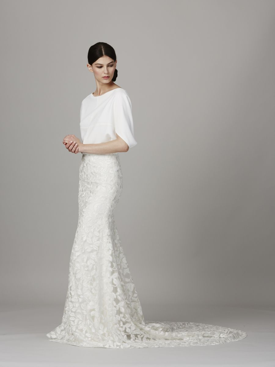 Alia bastamam wedding dress  Lela Rose Bridal Week Spring   vestidos largos formal