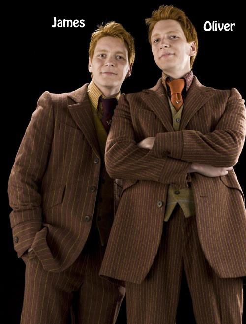 How To Tell The Twins Apart Harry Potter Twins George Weasley Fred And George Weasley