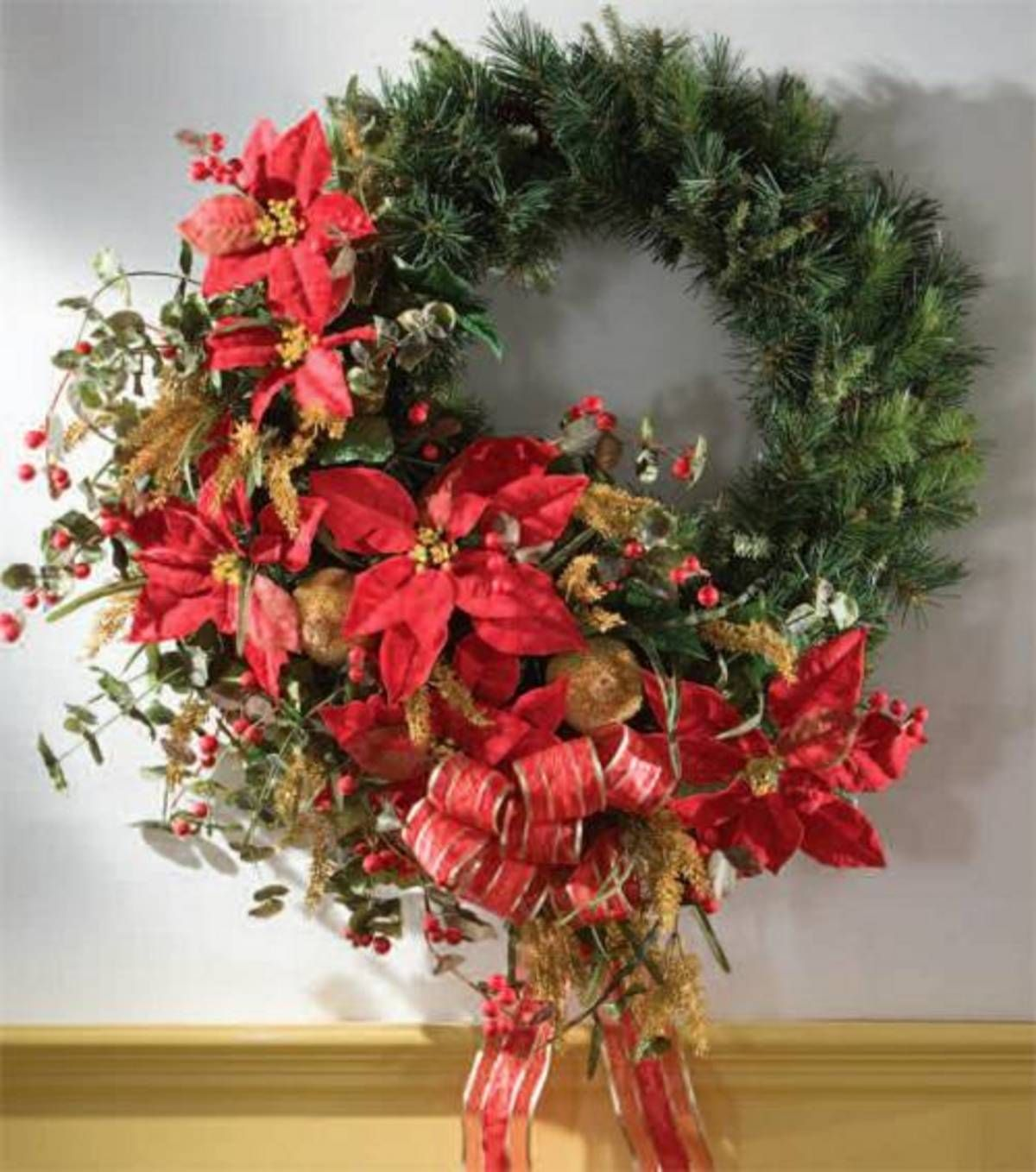 Elegant Christmas Wreath | Xmas decor ideas | Pinterest | Elegant ...