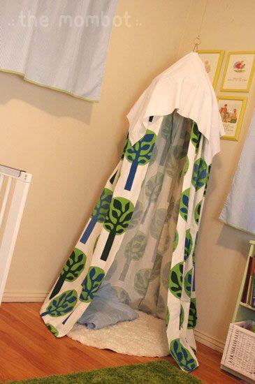 DIY indoor hanging tent & DIY indoor hanging tent | Hanging tent Indoor tents and Tents