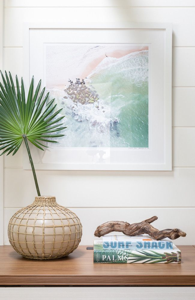 Photo of Surfer Chic Pool House Remodel Interior Pictures