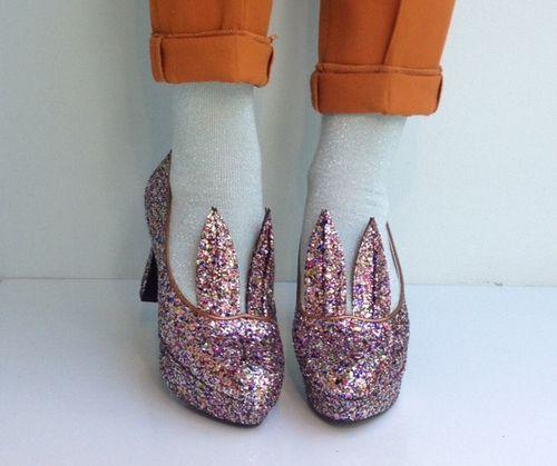 Minna Parikka Hare multi glitter