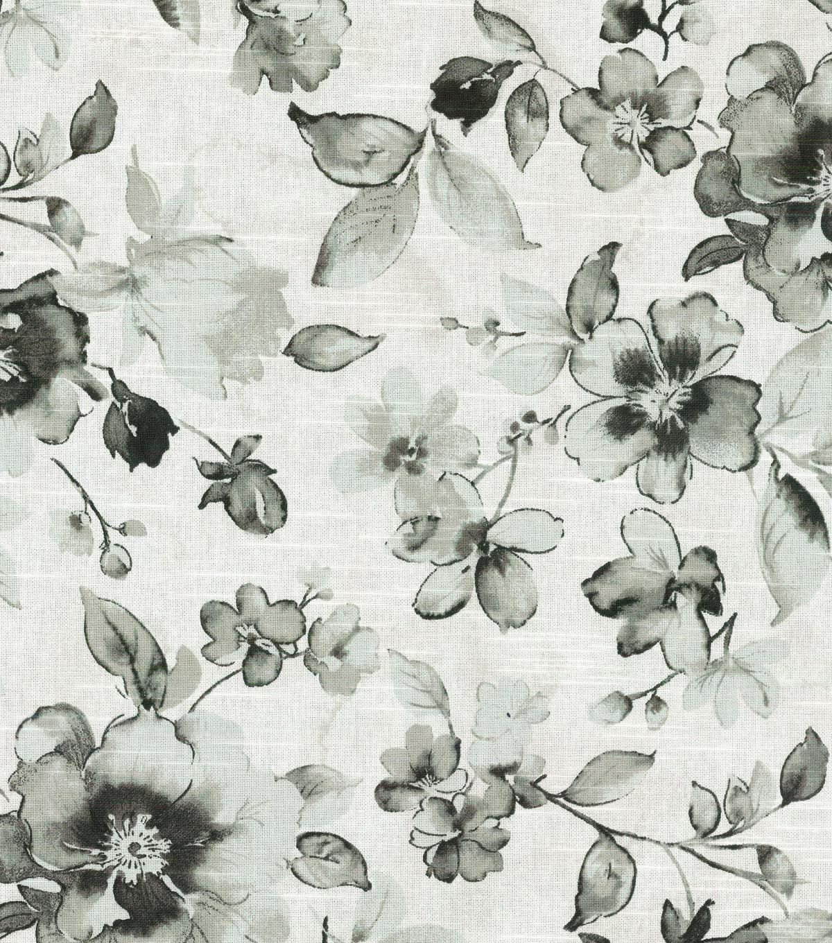 kelly ripa upholstery fabric-ethereal dance ebony | kelly ripa