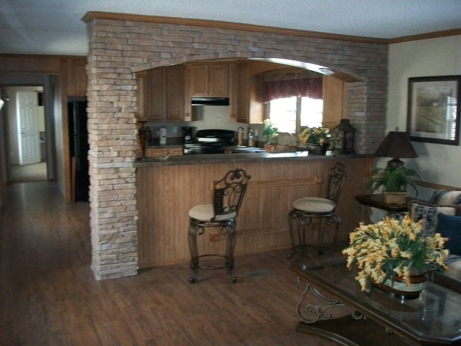 Mobile home remodeling ideas love it trailer remodel Home improvement ideas kitchen