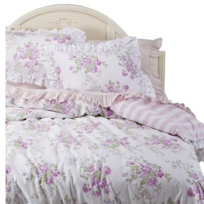 Simply Shabby Chic Fl Duvet Cover, Discontinued Target Shabby Chic Bedding