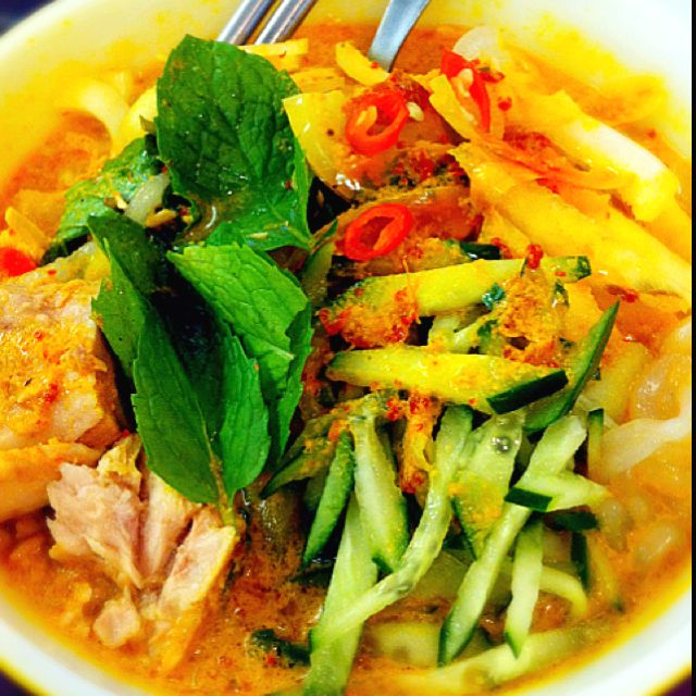Malaysian Food, Asian Recipes, Laksa