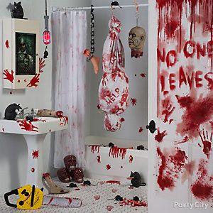 Halloween bathroom decor ideas