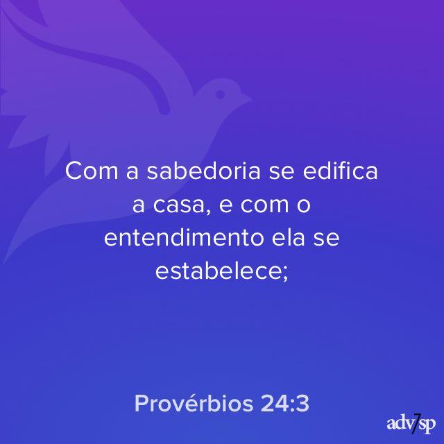 Promessa encontrada em Provérbios 24:3  http://bit.ly/promessasApp