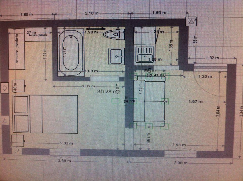 Le plan de mon appartement