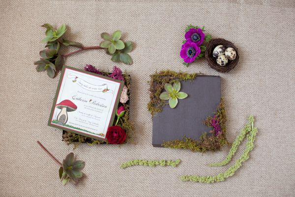 Enchanted Forest Baby Shower Invitation By Katie Williams Design Co