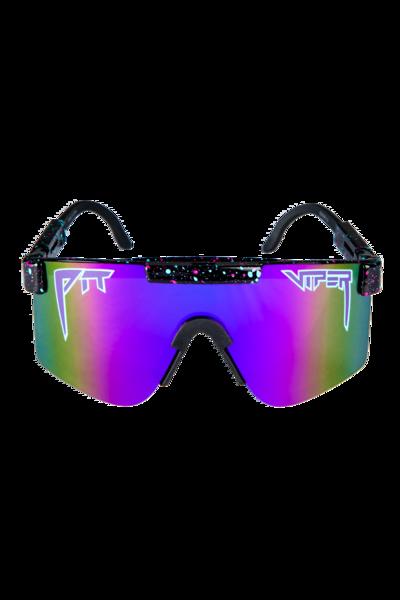 00af08da9929 The Night Falls Black and Purple Pit Viper Sunglasses