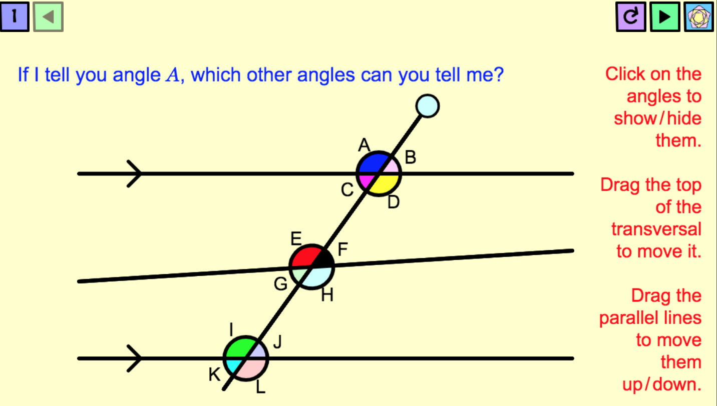 Pin By Miss Penny Maths On Angles In Parallel Lines