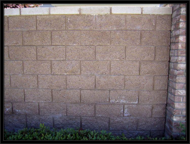 Retaining Wall With Brick Columns Brick Columns Retaining Wall Concrete Block Walls