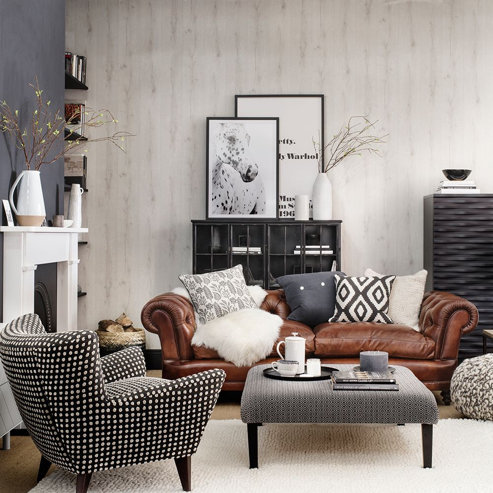 Scandi Hideaway With Chesterfield Style Sofa Spice Up