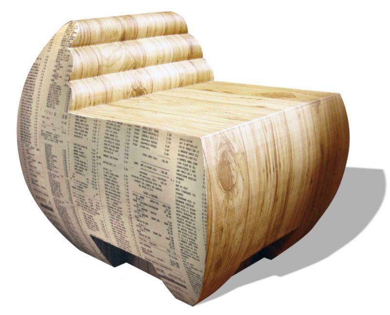 Fauteuil Apoint By Tonkr Tonkr Com Design En Carton Mobilier De Salon Meubles En Carton