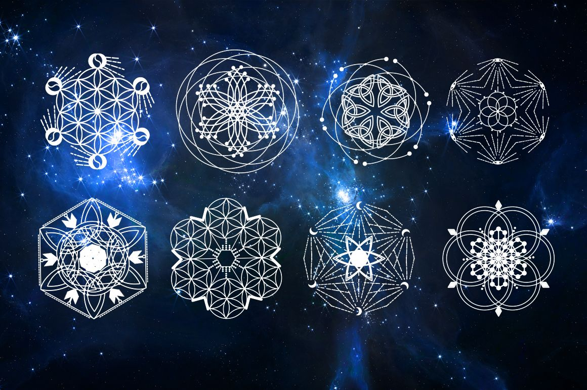 Sacred geometry involves sacred universal patterns ..