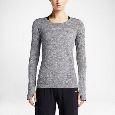 6b4ad9c4edb3 Nike Dri-Fit Knit Long Sleeve Women s Running Top (S) -  80 http