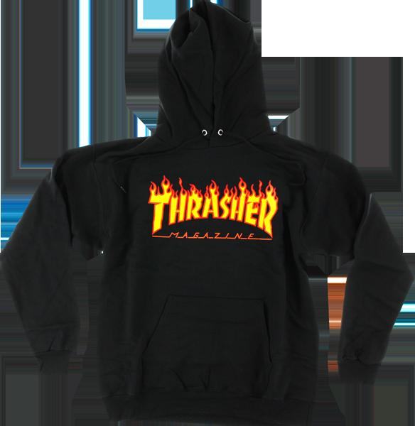 Real Thrasher Hoodie