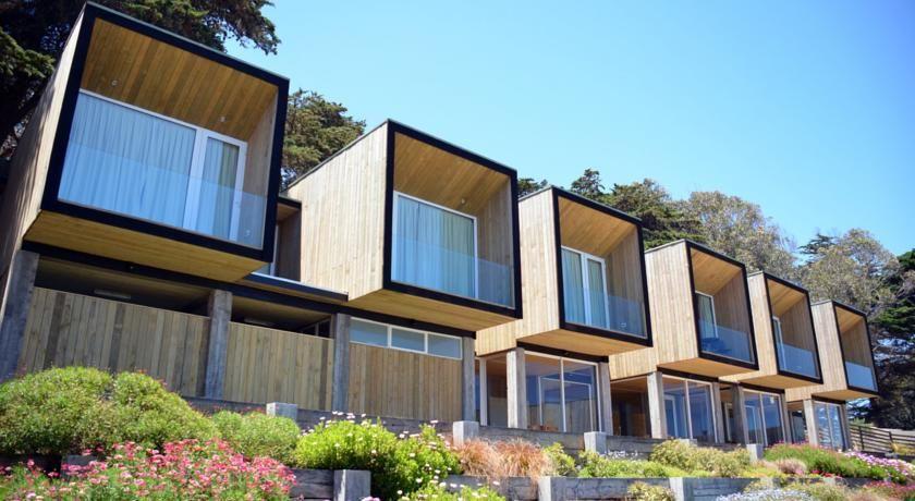Lodge del mar pichilemu chile - Transformar contenedor maritimo vivienda ...