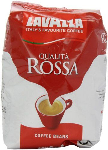 Lavazza Qualita Rossa Espresso Coffee Beans Twin Pack 2X1Kg * See this great product.