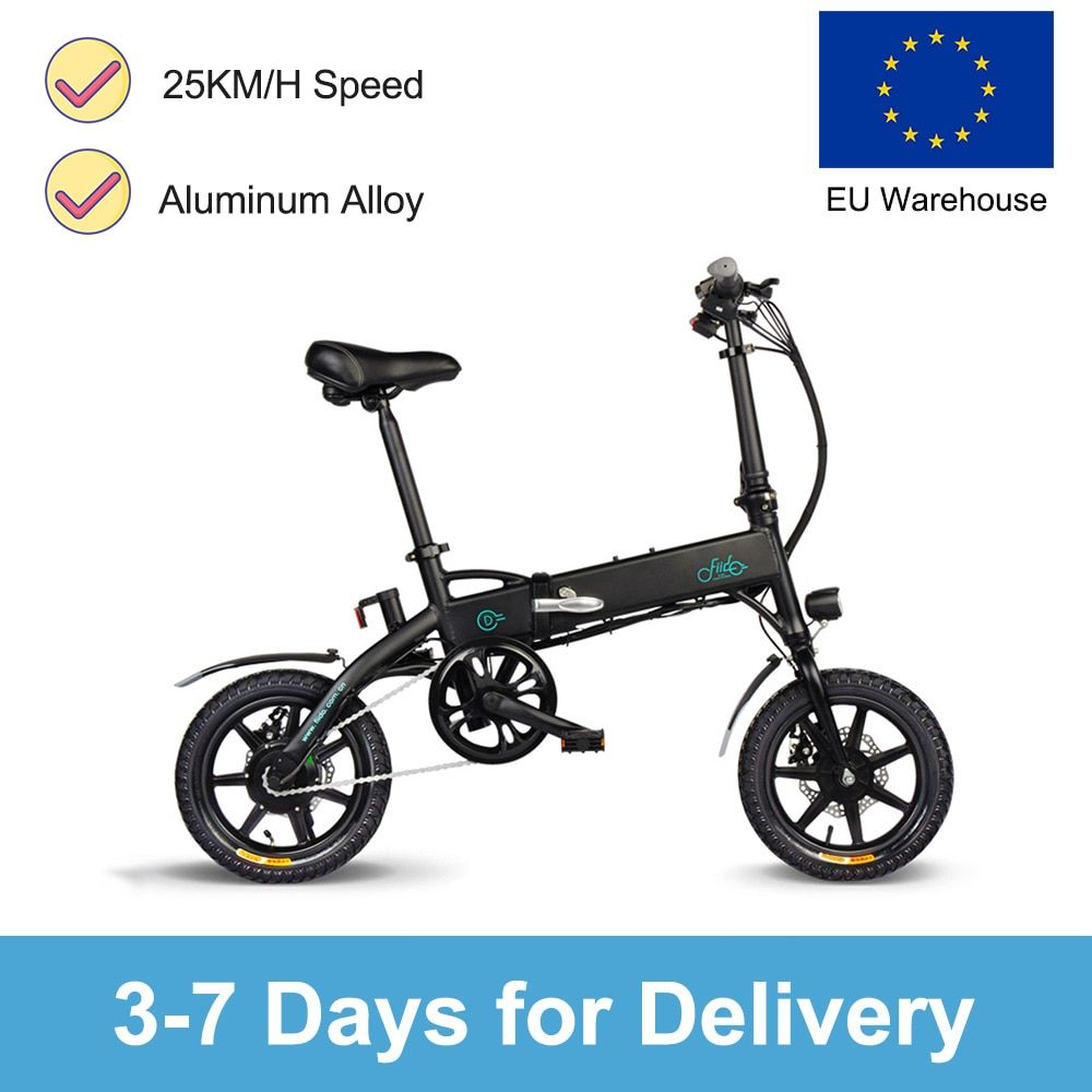 Electric Bike Ebike Fiido D1 Electric Bikeebike Bike Booster Mountain Bicycle Folding Electric Bicycle With Front Led Light Di 2020