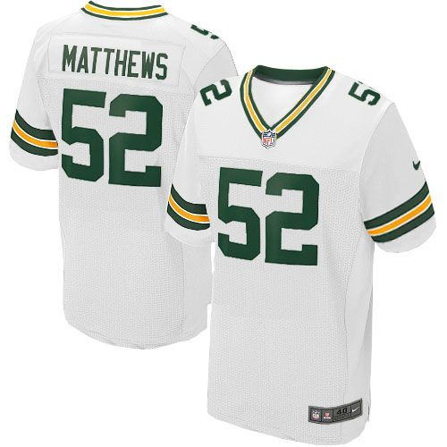 a673404b9 All Size Free Shipping Elite Youth Nike Green Bay Packers #52 Clay Matthews  White NFL Jersey. Have your Elite Youth Nike Green Bay Packers #52 Clay  Matthews ...