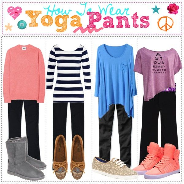 """""""HTW: Yoga Pants"""" by that-girl-with-the-tips - 97.0KB"""