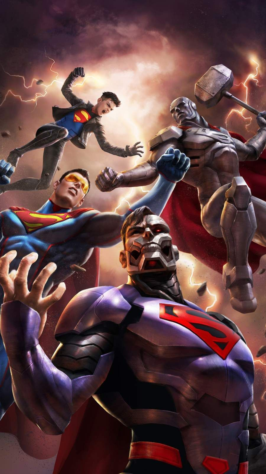Reign Of The Superman Iphone Wallpaper In 2020 Superman