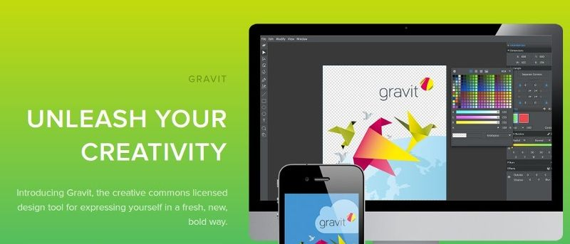 Gravit A New Design Tool For Linux Make Tech Easier Tool Design Cool Sketches Linux