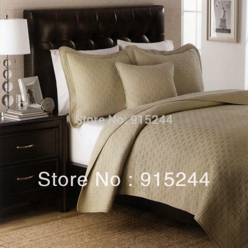 Find More Information About Kakhi Cotton Quilting Bedspread Bed
