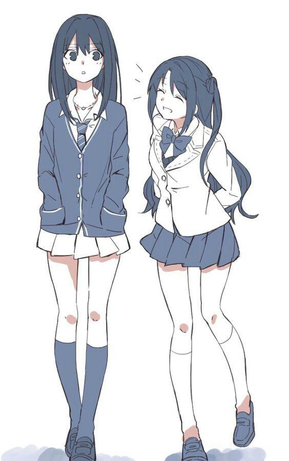 Pin By Adisha On Anime 2 Friend Anime Anime Best Friends Anime Sisters