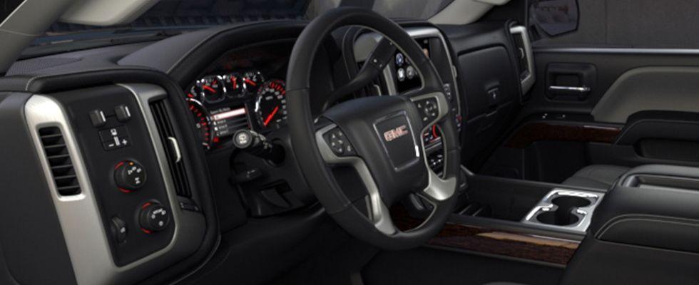 2015 Gmc Sierra 2500hd With Jet Black Interior Gmc Sierra