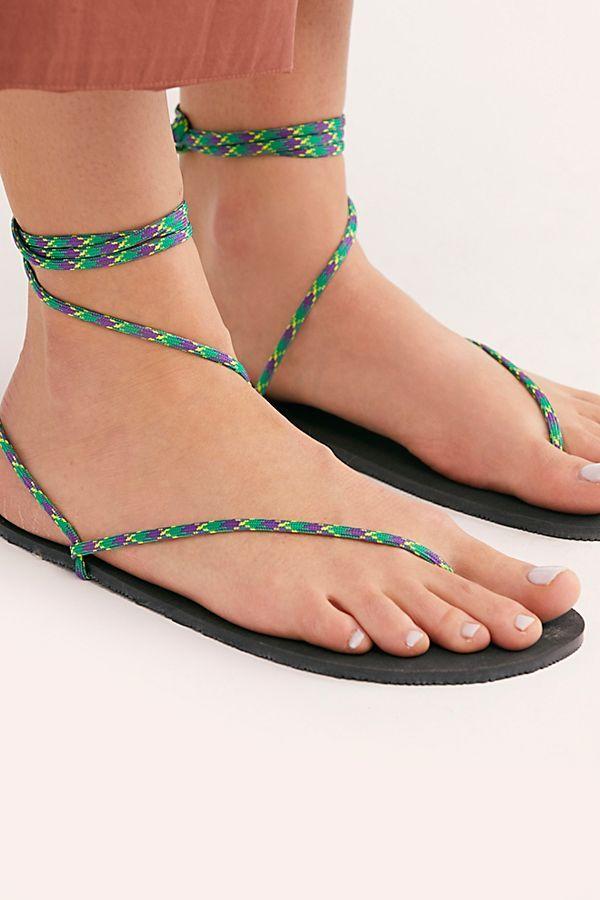 Clays Wrap Sandals   Wrap sandals, Clay