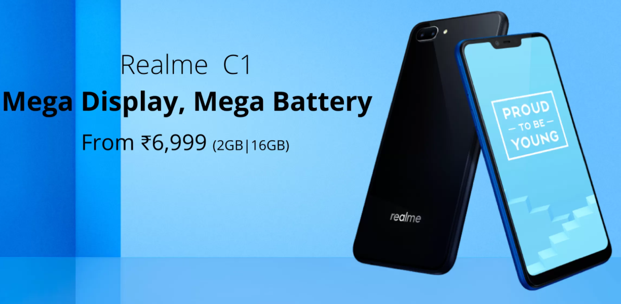 Real me C1 Smartphone in India | Mobile Phone Online