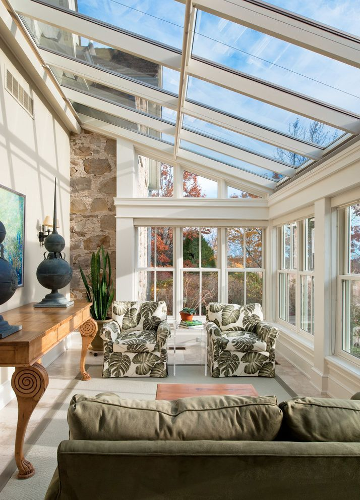 Winsome Sunroom Paint Colors Fusion With Entrancing Sunroom Decor