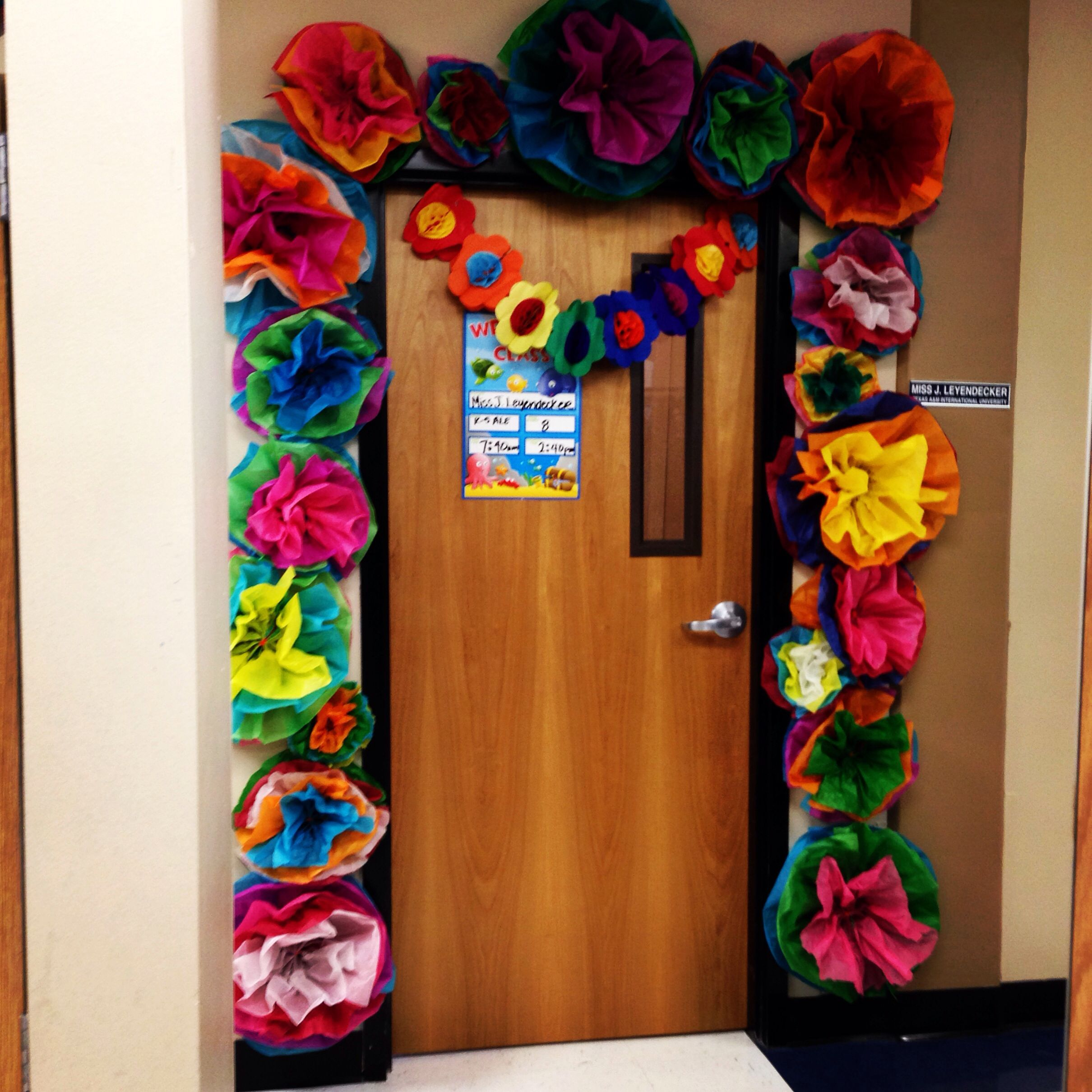 My Fiesta Spring Classroom Door Decor Festive Spanish