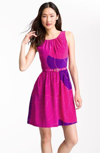 Trina Turk 'Janice' Print Belted Silk Dress. Nordstrom. $328.