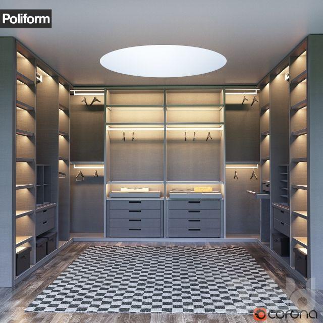 Senzafine Walk In Closet Poliform Max   Model