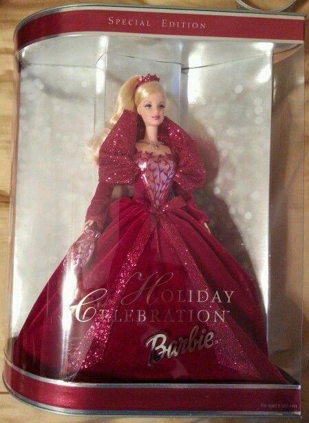 2002 Special Edition Holiday Celebration Barbie