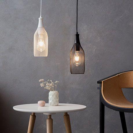 wire bottle lamp white by gl hwerk berlin monoqi lighting rh pinterest com wiring a bottle lamp Wiring Lamp with Night Light