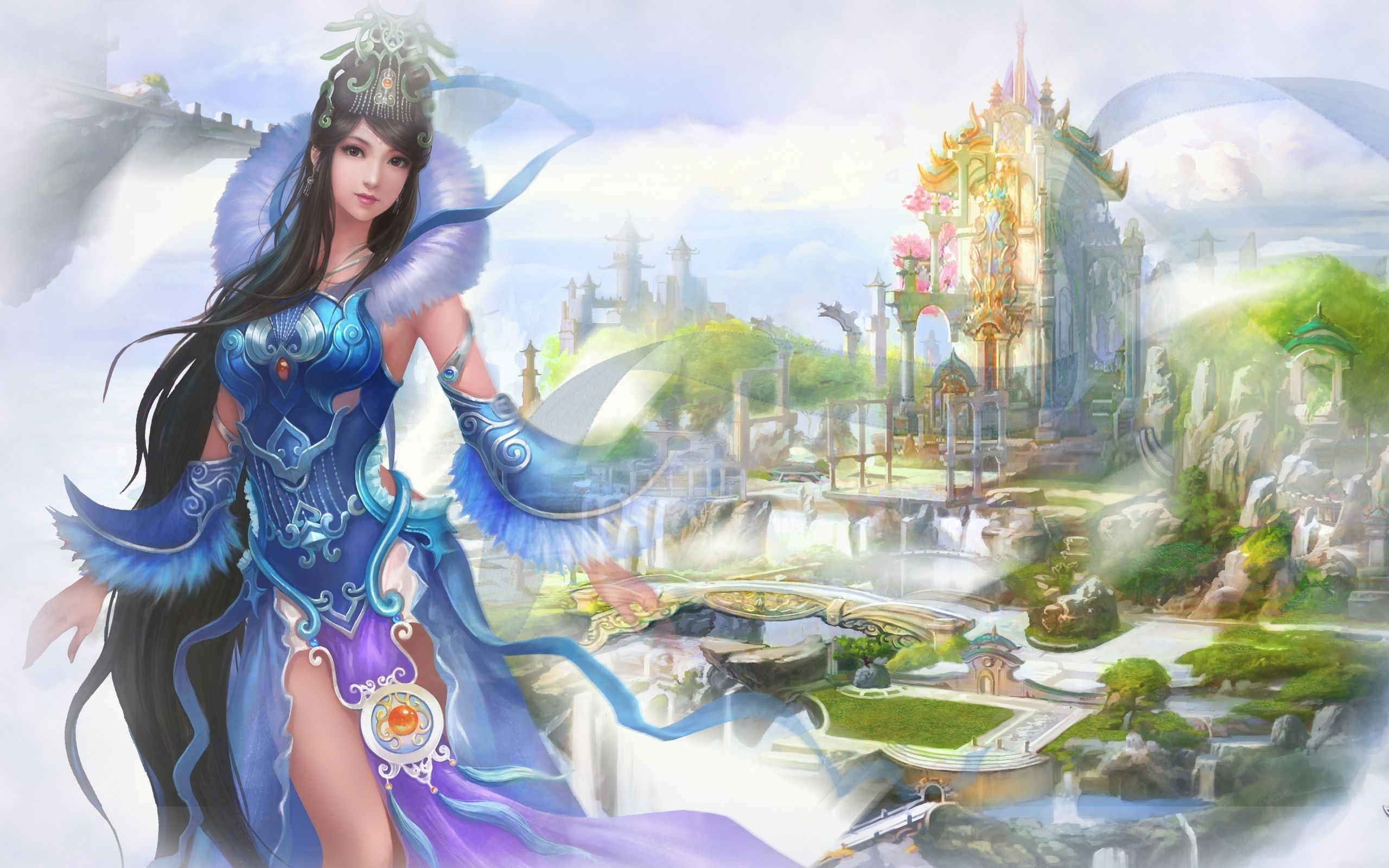 jade dynasty perfect world mmorpg china game wallpapers fantasy