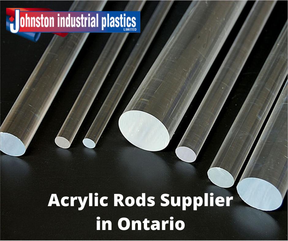 Acrylic Rods Supplier In Ontario Johnston Industrial Plastics Acrylic Rod Acrylic Curtain Rods Tap Plastics