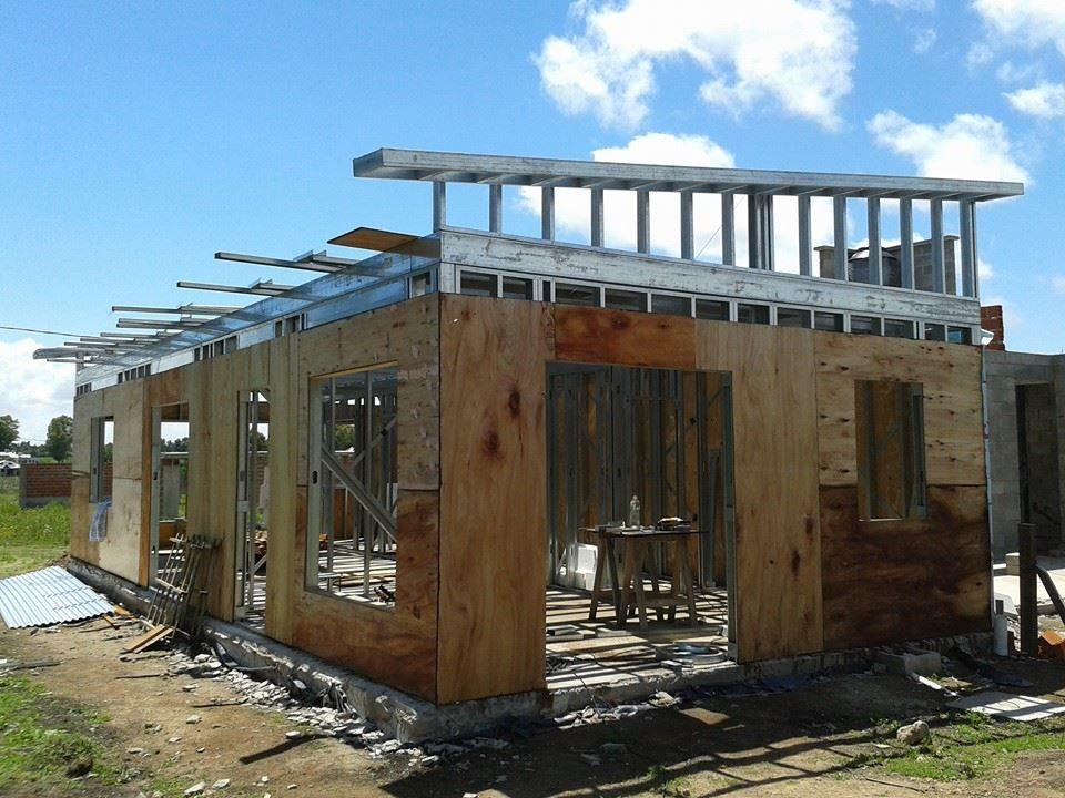Steel frame arquitectura steel framing casas - Quiero ver casas prefabricadas ...