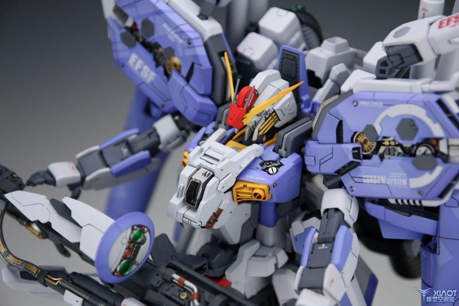 1 100 Msa 0011 Ext Ex S Gundam Painted Build Work By 动漫 Gundam Gundam Model Wallpaper Size