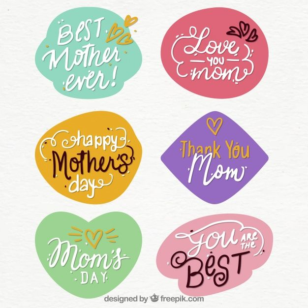Take the opportunity to use some of these free resources to celebrate Mother's Day!