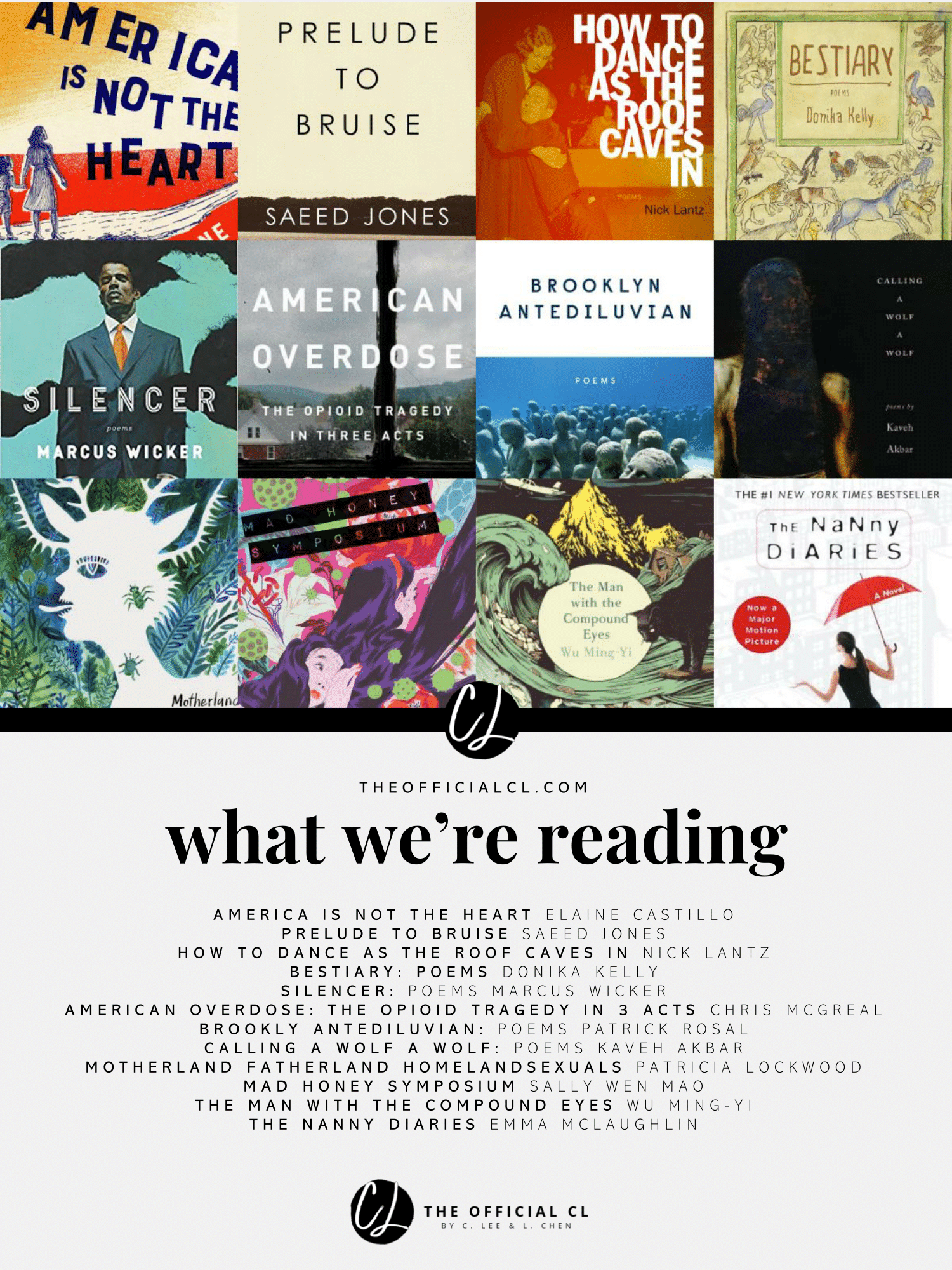 The books we're reading and loving! Reading, Bruises