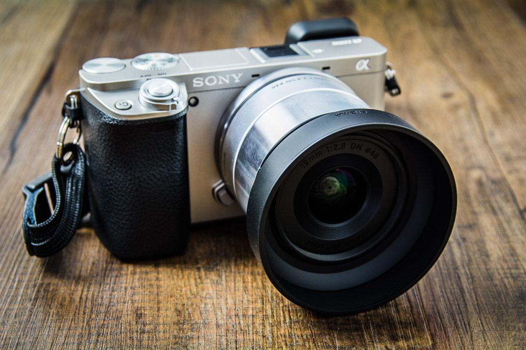 Ein neues Sigma Art 19mm f2.8 Objektiv für meine Sony Alpha 6000 ...