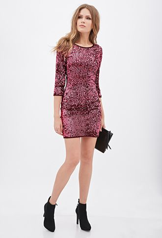 b57f767a pink sparkly dress forever 21 | Dress Me Up | Dresses, New years eve ...
