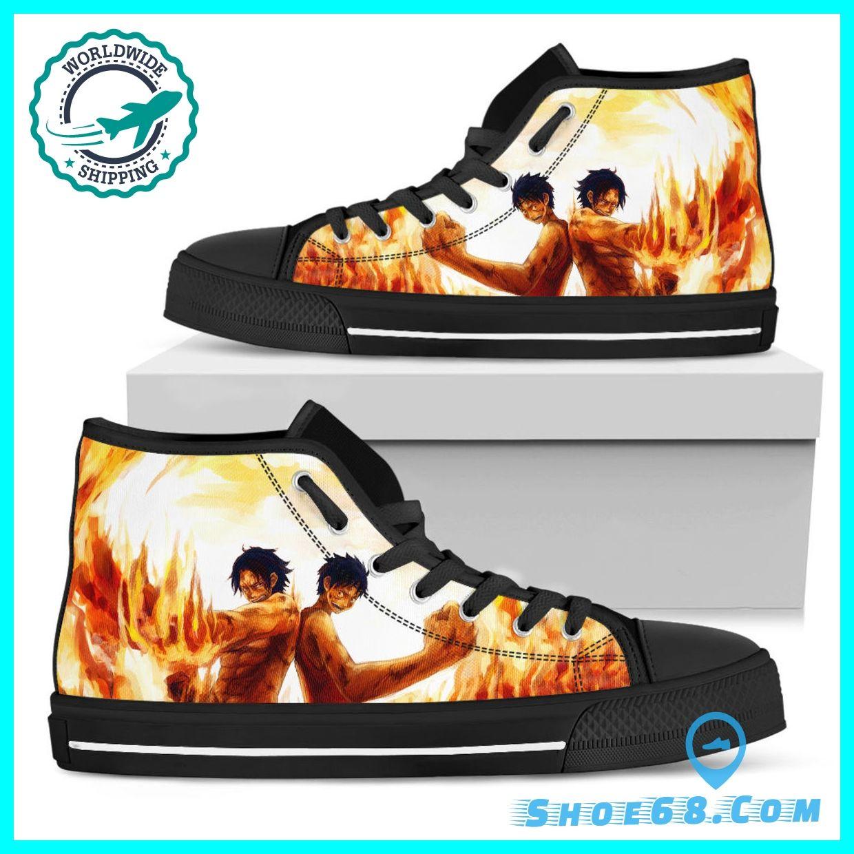 one piece anime nike shoes