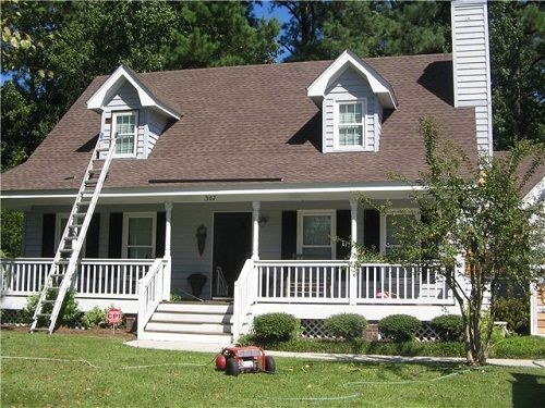 Exterior House Colors With Brown Roof Jpg 500 375 Exterior Paint Colors For House House Paint Exterior Brown Roofs